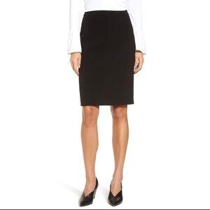 Halogen Seamed Pencil Skirt Black 2P